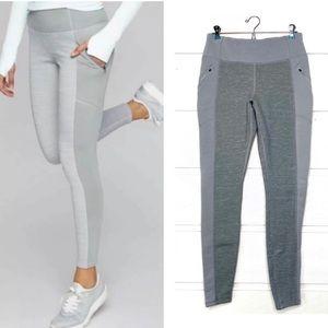 Athleta Polartec fleece lined leggings joggers